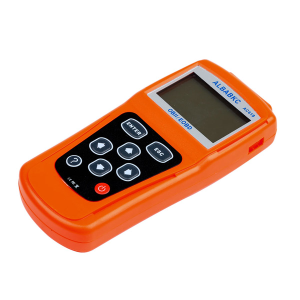 2018 Newest ALBABKC AC619 Auto Fault Code Scanner Diagnostic Scan Tool