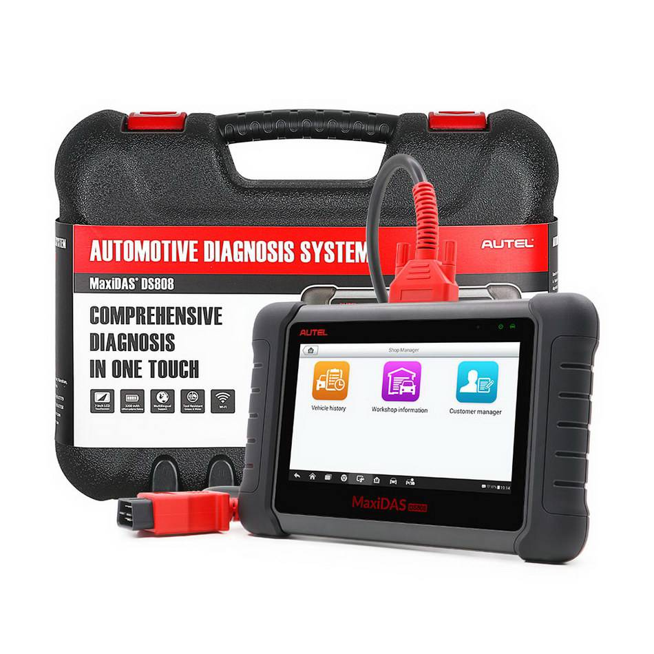 AUTEL MaxiDAS DS808 KIT Tablet Diagnostic Tool