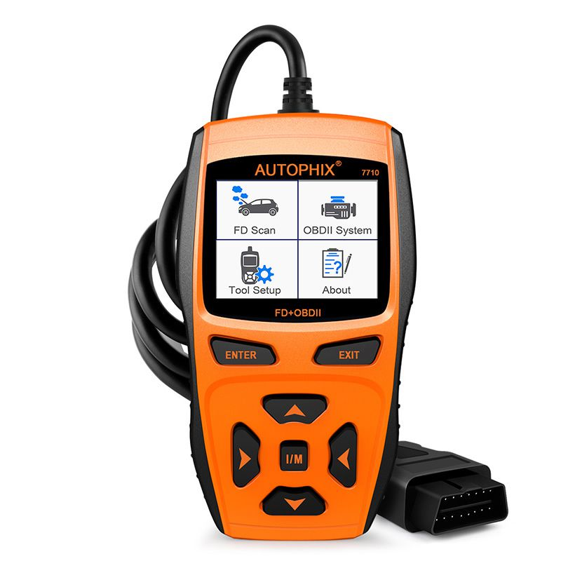 Autophix Automotive Diagnostic Tool 7710 OBDII OBD2 Scanner for Ford Car Engine Fault Code Reader +ABS SRS Airbag EPB Oil Reset