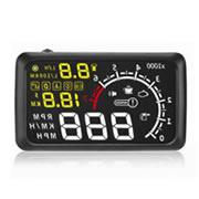 "Bluetooth Version 5.5"" X3 Large Screen Car HUD Head Up Display With Built-in ELM327 Module"