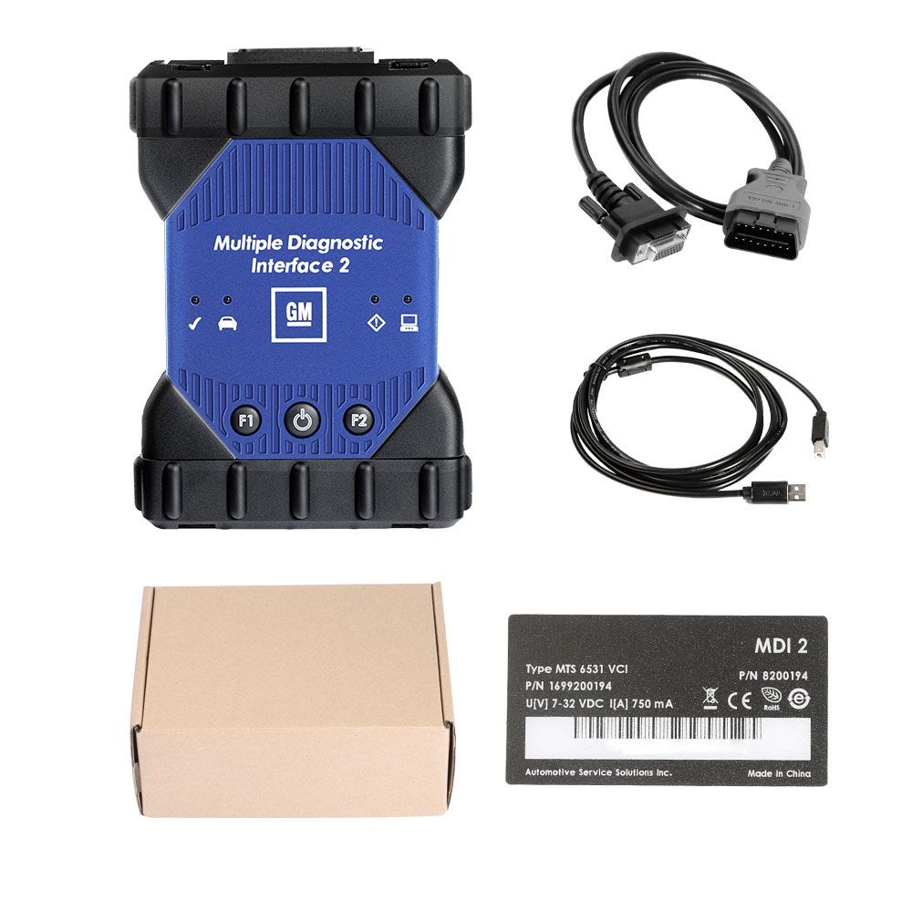 GM Multiple Diagnostic Interface 2 MDI 2  with Wifi Card