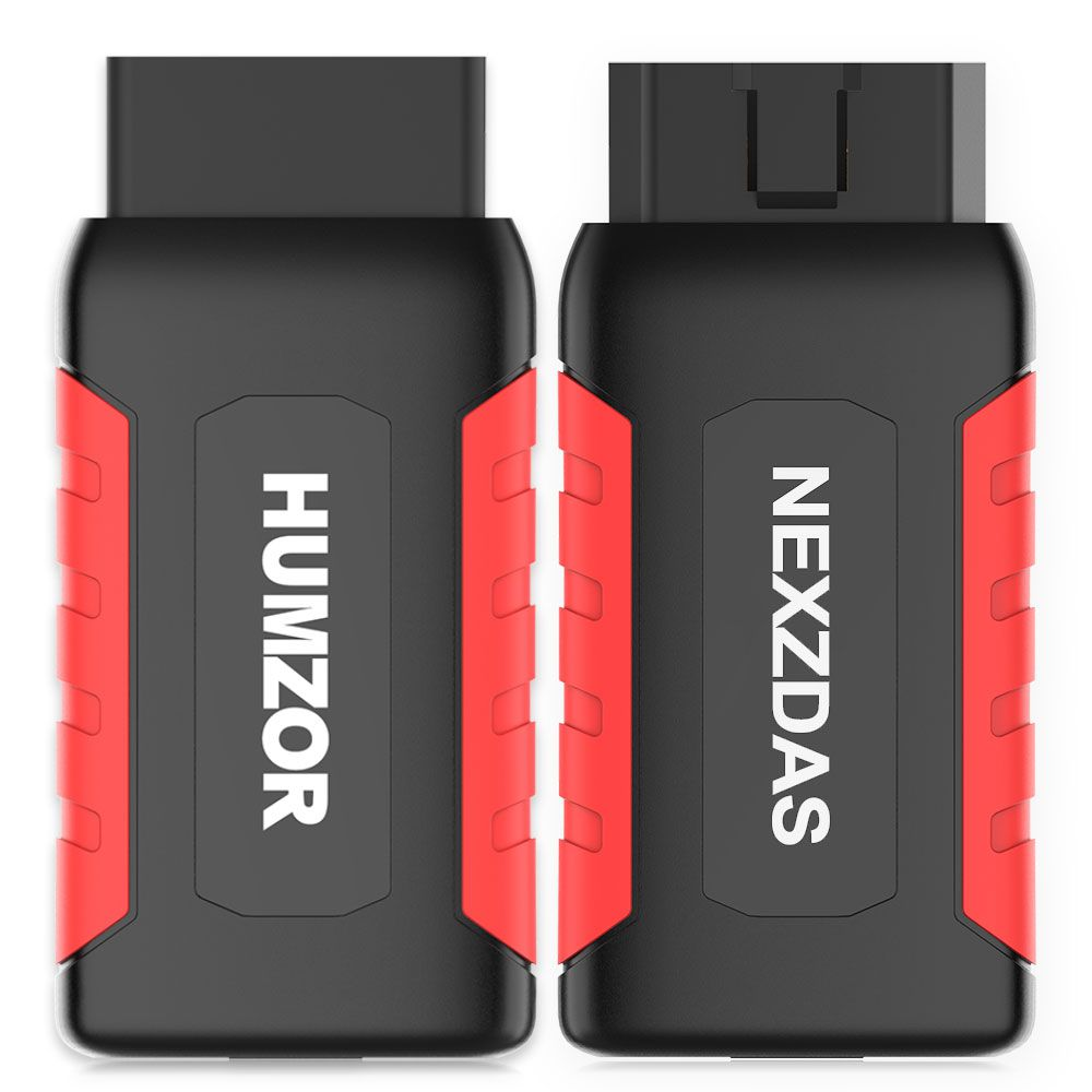 Humzor NexzDAS ND606 Support Diagnostic+Special Functions+Key Programming for Both 12V/24V Cars and Heavy Duty Trucks