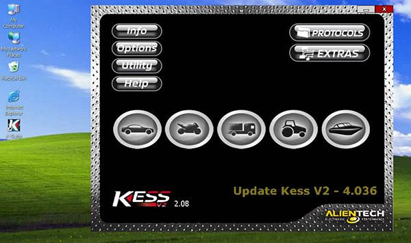 Truck Version KESS V2 Display 1