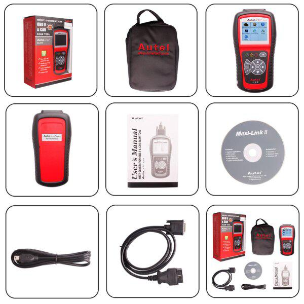 Original Autel AutoLink AL519 OBD-II and CAN Scanner