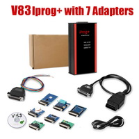V80 iProg+ Programmer iProg Plus Full  with 7 Adapters Support IMMO + Mileage Correction + Airbag Reset