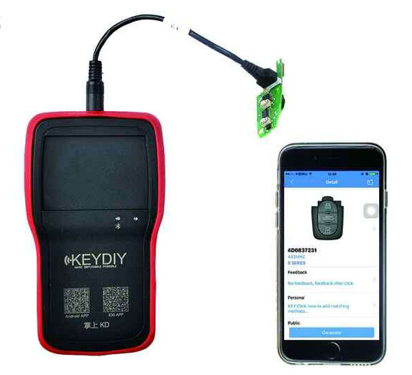 KEYDIY KD900+ for IOS Android Bluetooth Remote Maker-1