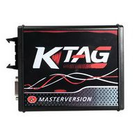 New 4 LED KTAG V7.020 Firmware EU Version Red PCB Latest V2.23 No Token Limitation Multi-Language K-TAG 7.020 Online Version
