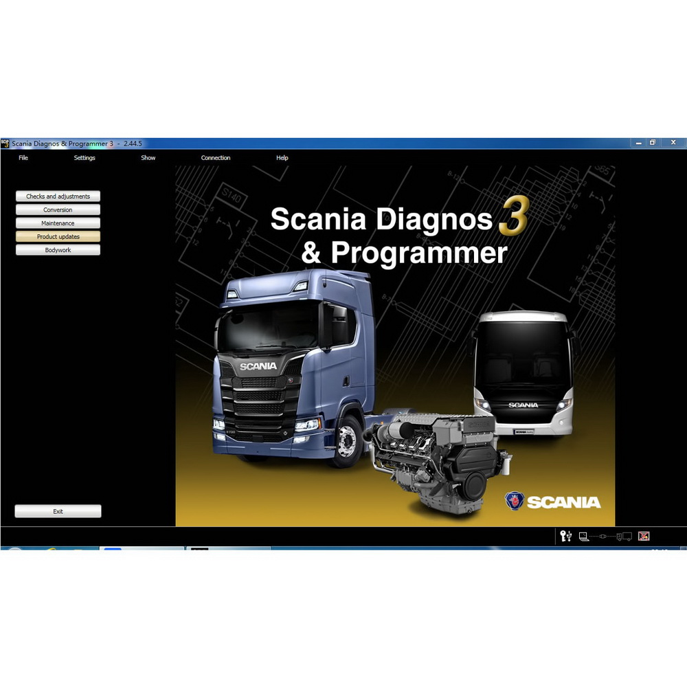 Scania SDP3 2.41.3 Diagnosis & Programming for VCI 3 VCI3 without Dongle