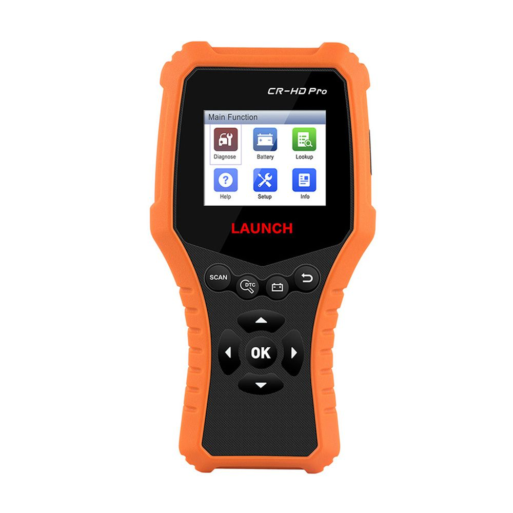 LAUNCH CR-HD Pro Car and Truck OBD2 HOBD Code Reader Scanner