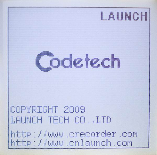 Launch X431 Codetech Pocket Code Scanner Screen Display-1