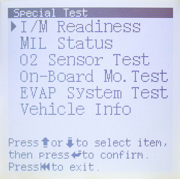 Launch X431 Codetech Pocket Code Scanner Screen Display-3