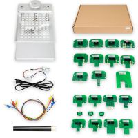 LED BDM Frame With 4 Probes and Mesh + BDM Probe Adapters for KESS Dimsport KTAG Full Set