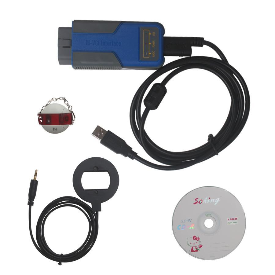 Multi Tool for BMW OBD2 CAS1-4+ Key Programmer V7.7 Get Free Encrypted BMW CAS4