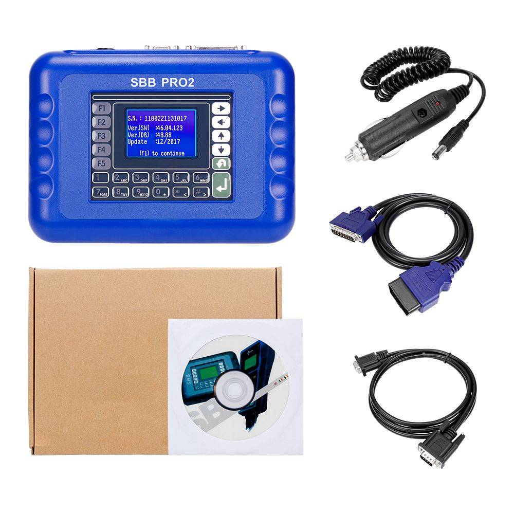 V48.99 SBB Pro2 Key Programmer Support New Cars to 2017.12 Replace SBB 46.02