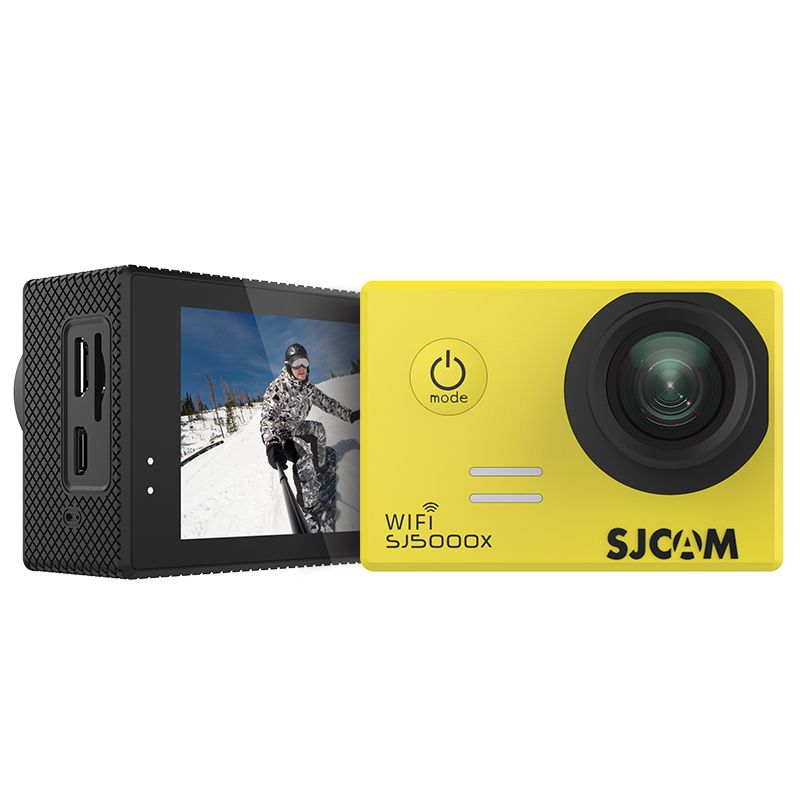 SJCAM SJ5000X Elite Action Camera WiFi 4K 24fps 2K 30fps Gyro Sports DV 2.0 LCD NTK96660 Diving 30m Waterproof Camcorde