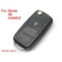 Smart Remote Key 3 Buttons 434MHZ Type::3T0 837 202 H for Skoda