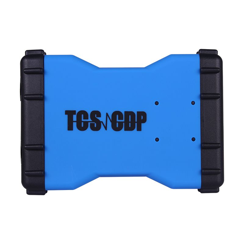 Promotion 2015.3 New TCS CDP+  auto diagnostic tool with Bluetooth Blue Version