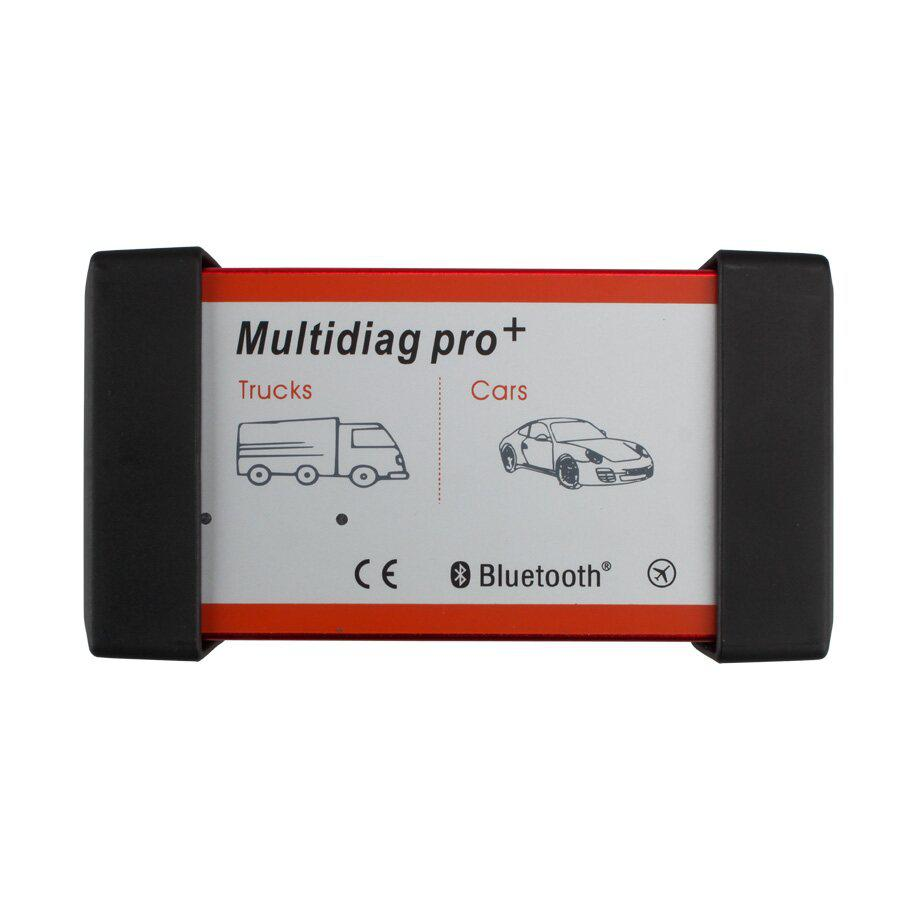 V2016 New Design Multidiag Pro CDP+ For Cars/Trucks And OBD2 With Bluetooth and 4GB Card Plus Car Cables Support  Win8