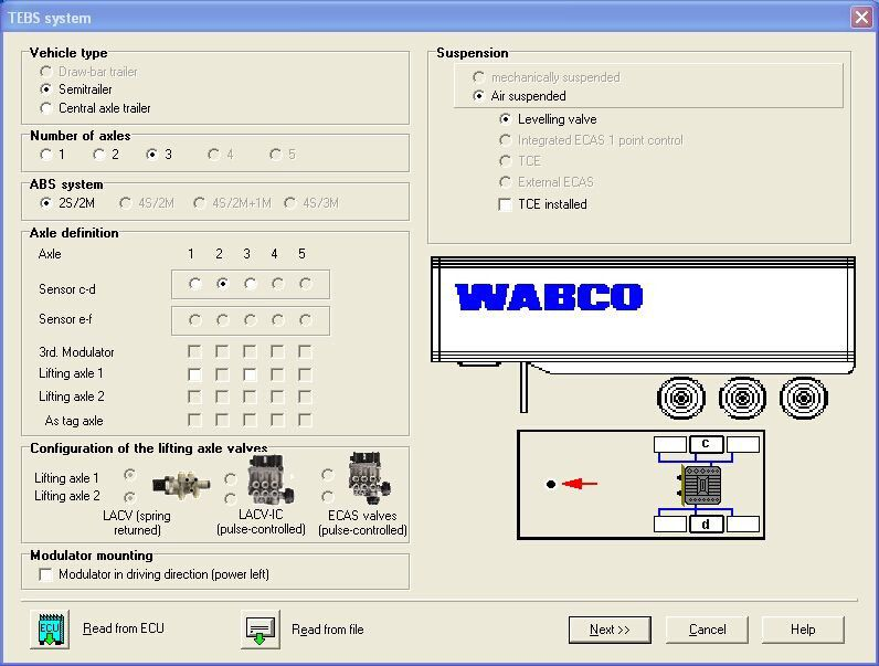 WABCO Diagnostic KIT Trailer and Truck Diagnostic Interface