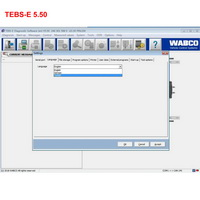 Wabco Diagnostic Software Wabco TEBS-E 5.50 + New Activator English and German Version