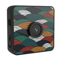 Water-resistant Polychrome 1080P HD Mini Camera Stickable Wearable Multiple Skin Magnetic Micro Small Camera