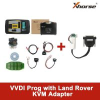 Original V4.9.4 Xhorse VVDI PROG Programmer with Land Rover KVM Adapter without Soldering