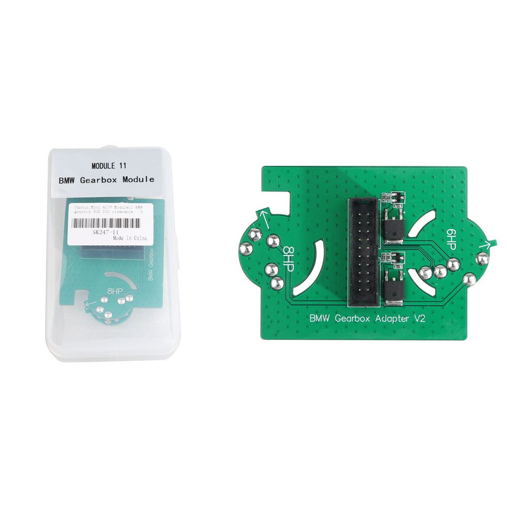 Yanhua Mini ACDP Module11 Clear EGS ISN Authorization with Adapters