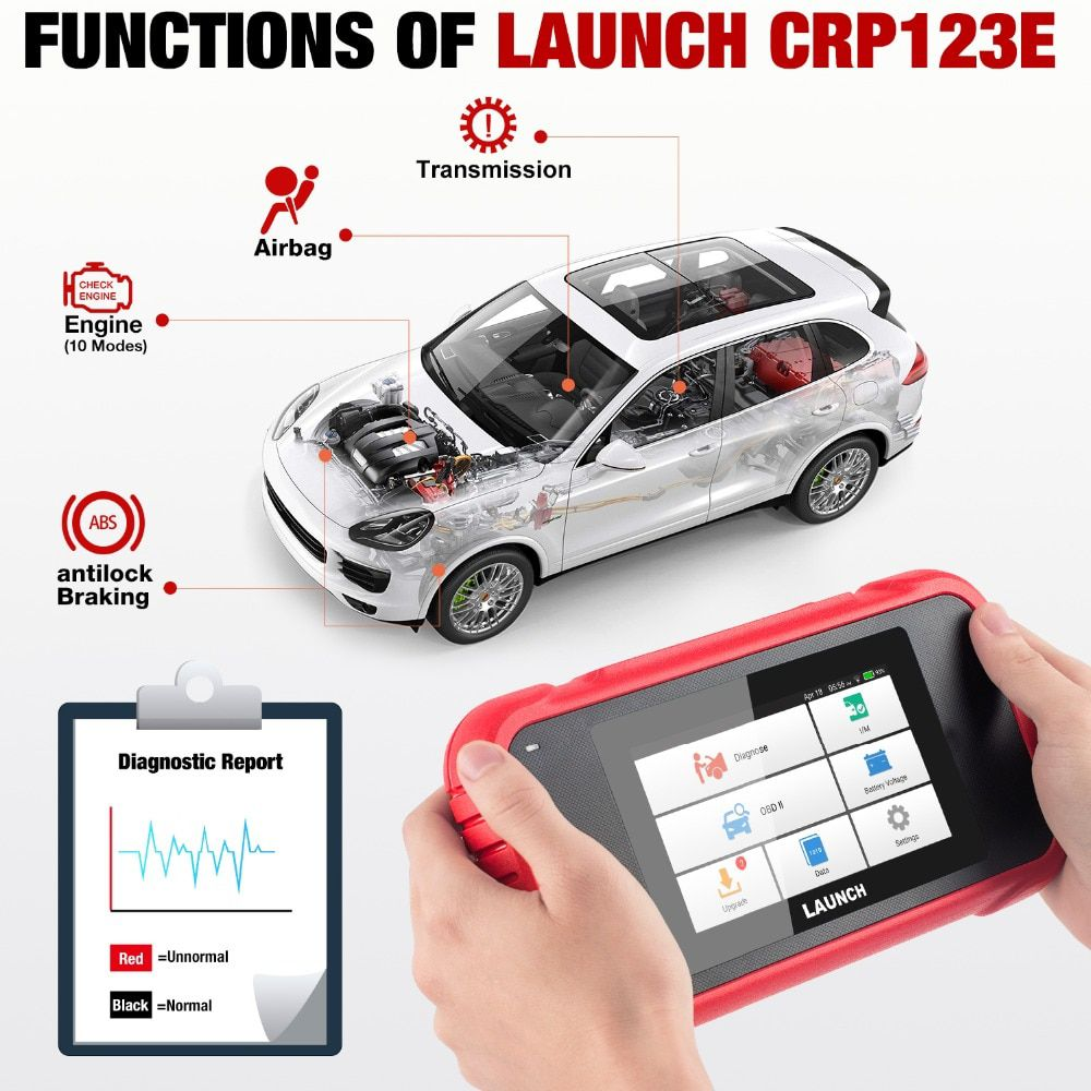 Launch X431 CRP123E Software
