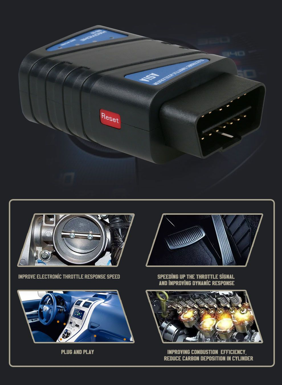Automotive Electronic Throttle Accelerator