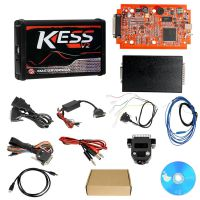 Promotion Kess V2 V5.017 EU Version SW V2.53 with Red PCB Online Version Support 140 Protocol No Token Limited
