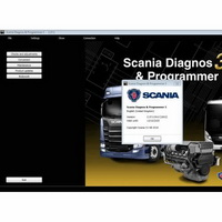 Scania SDP3 2.47.2 Diagnosis & Programming for VCI 3 VCI3 without Dongle