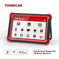 Thinkcar Thinktool Pros auto Diagnostic Tool 10inch Full System ADAS OBD2 Code Scanner 28 Reset Function online Program pk x431 V+