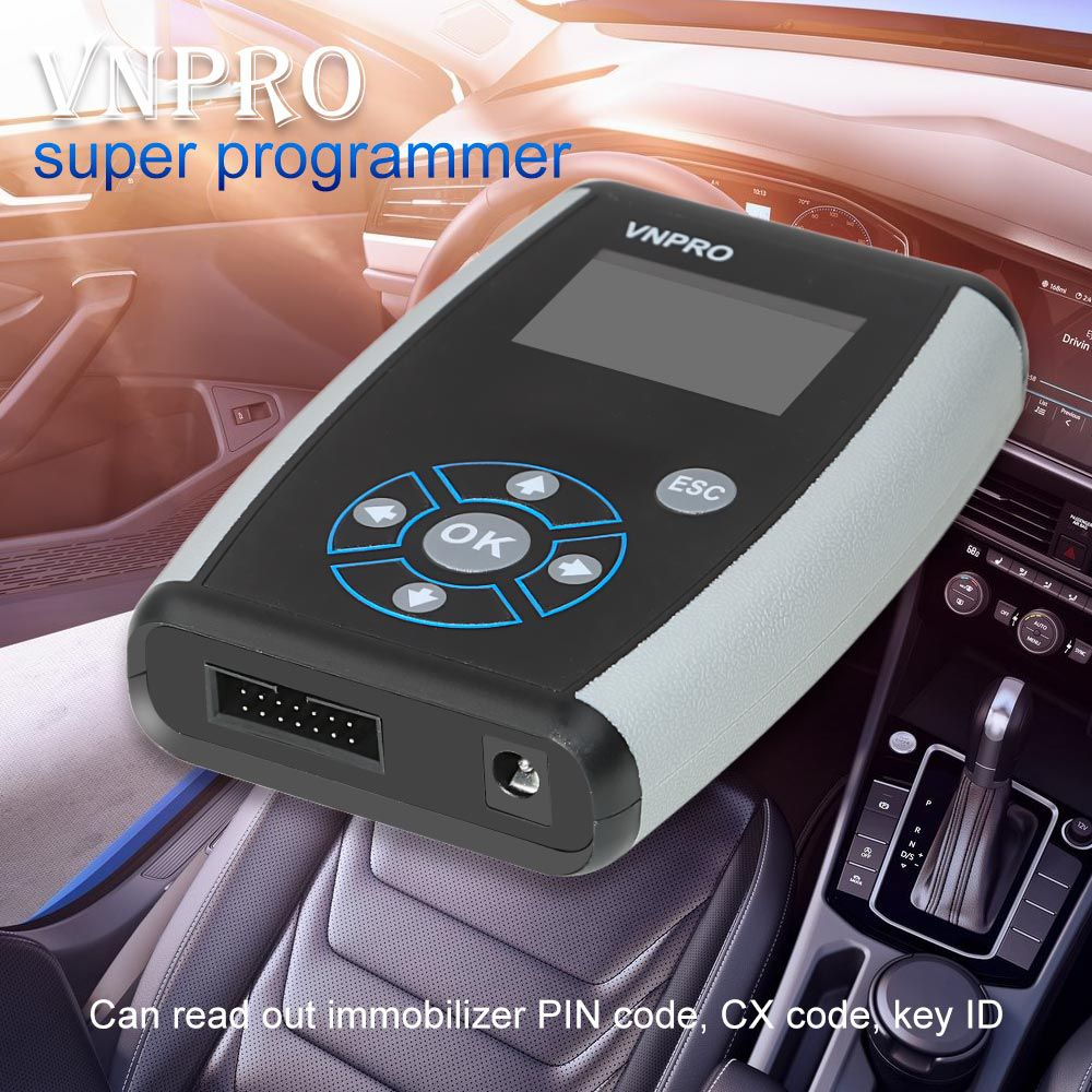 VNPRO Super Programmer for VW Odometer Corretion, Read Pin Code, CX Code and Key ID